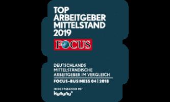 von Caprivi GmbH Fachpersonal Auszeichnung als Top-Arbeitgeber 2019